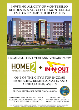 HOME 2 Suites 1 Year Anniversary